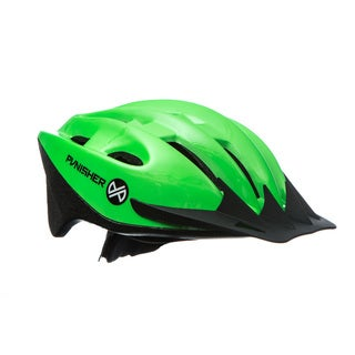 Link to Punisher 18-Vent, Adjustable, Adult Cycling Helmet in Lime Green Similar Items in Cycling Equipment