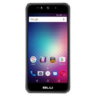 BLU Grand Max G110Q Unlocked GSM Dual-SIM Phone w/ Dual 8MP Front & Back Camera - Gray (Certified Refurbished)