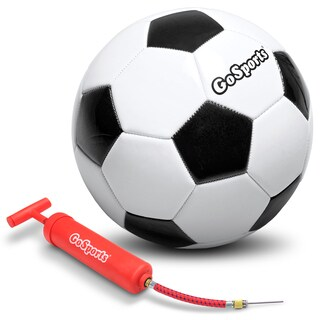 GoSports Classic Soccerball with Premium Pump