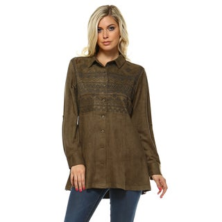Andrea Embroidered Shirt