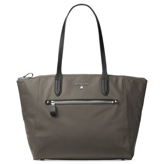 MICHAEL Michael Kors Kelsey Top-Zip Large Tote Graphite