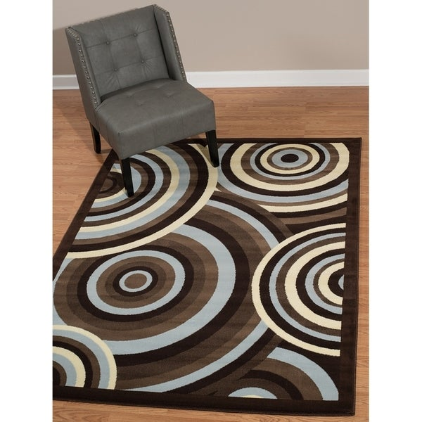 Westfield Home Rize Java Blue Accent Rug - 1'10 x 3'1