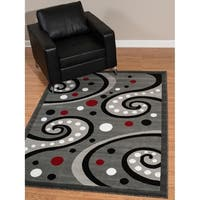 Westfield Home Rize Kaba Grey Accent Rug - 1'10 x 3'1