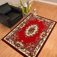 Westfield Home Rize Celia Red Accent Rug - 1'10 x 3'1
