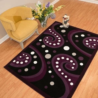 Westfield Home Rize Kaba Plum Accent Rug - 1'10 x 3'1