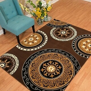 Westfield Home Rize Paja Dark Brown Accent Rug - 1'10 x 3'1