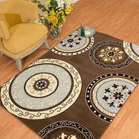 Westfield Home Rize Paja Brown Accent Rug - 1'10 x 3'1