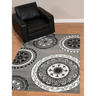 Westfield Home Rize Paja Grey Accent Rug - 1'10 x 3'1