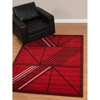 Westfield Home Rize Keto Red Accent Rug - 1'10 x 3'1