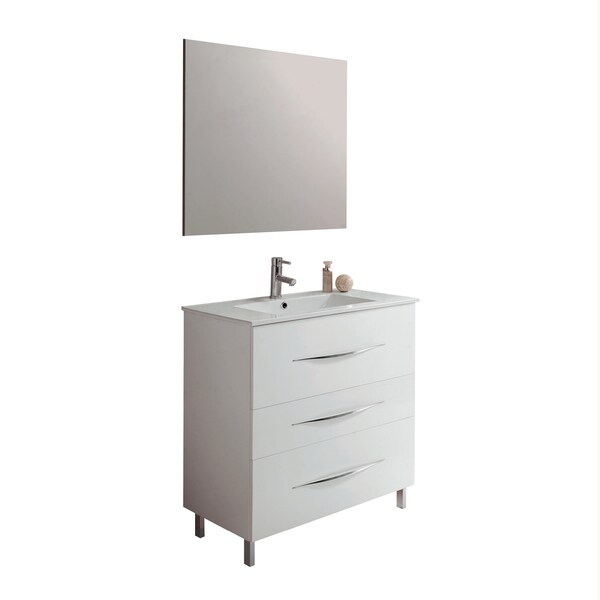 Maximum Bathroom Vanity 32 Three Drawer