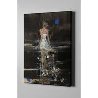 "Epic Graffiti ""Raining"" by Oscar Alvarez Pardo, Giclee Canvas Wall Art"