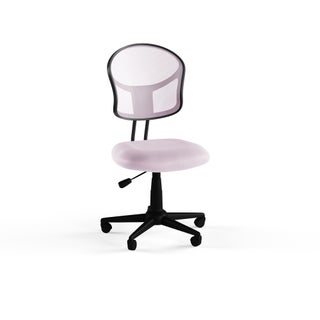 Porch & Den Over-the-Rhine Republic Mesh Office Chair (Option: Pink)