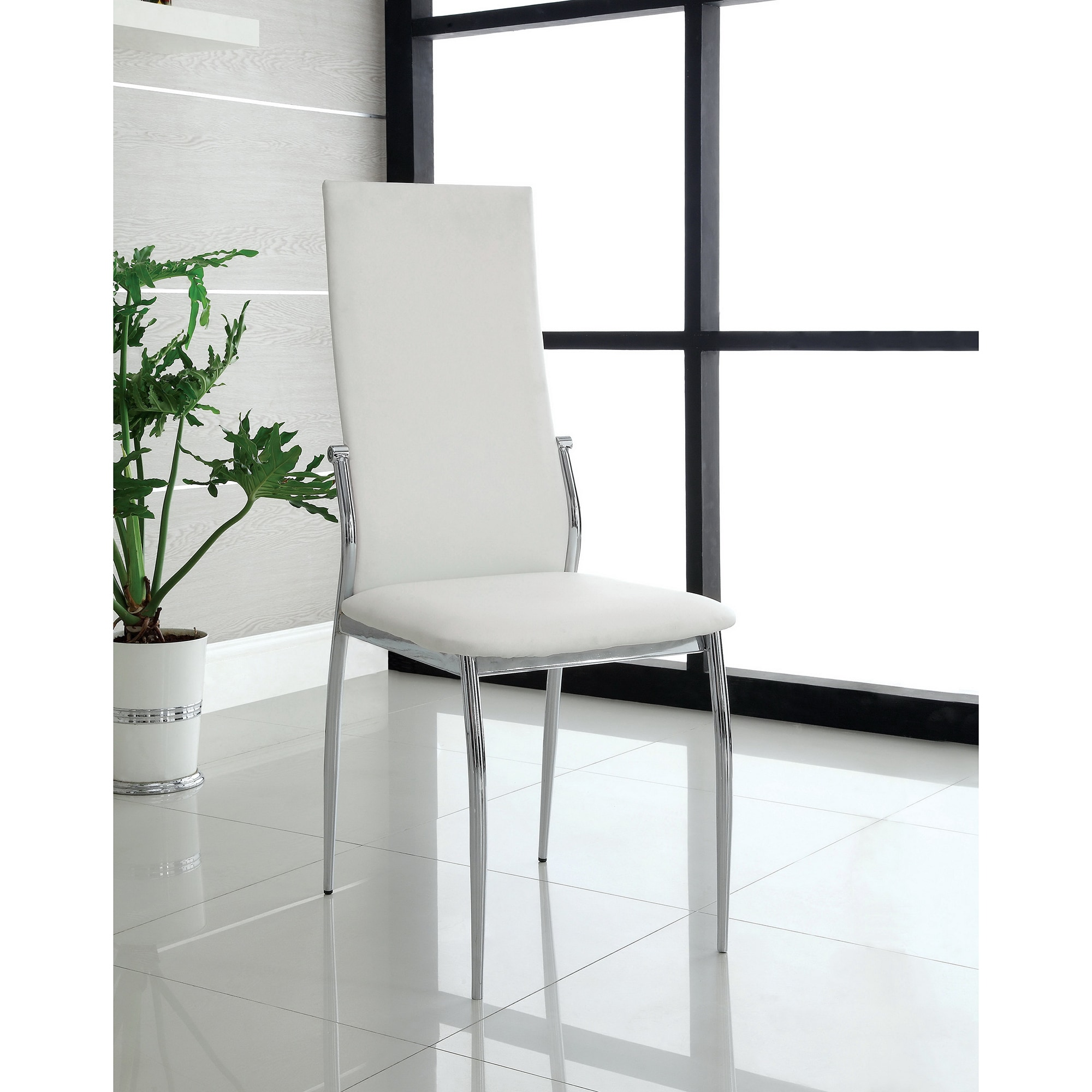 Porch U0026 Den Bushwick Jefferson Leatherette Dining Chairs (Set Of ...