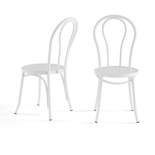 Porch & Den Third Ward Lapham Vintage Inspired Cafe Chairs (Set of 2)