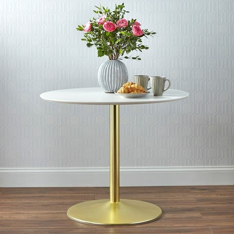 Carson Carrington Klemens Round Dining Table