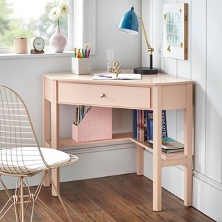 Corner desk office Contemporary Porch Den Lincoln Corner Desk Overstock Buy Corner Desks Online At Overstockcom Our Best Home Office