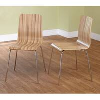 Porch & Den Third Ward Plankinton Dining Chairs (Set of 2) - N/A