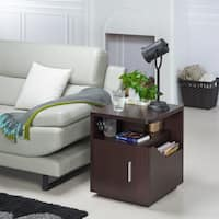 Porch & Den Bushwick Palmetto Modern Storage End Table