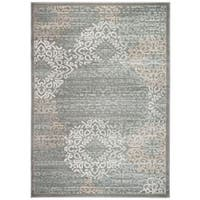 Porch & Den Pearl District Burnside Grey Area Rug (3'3 x 4'11)