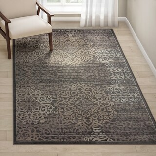 Porch & Den Pearl District Burnside Brown Area Rug - 5'3 x 7'3