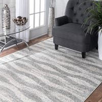 Porch & Den Williamsburg Hooper Geometric Waves Area Rug