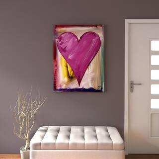 Porch & Den Zane Heartwork Daffodil Canvas Art