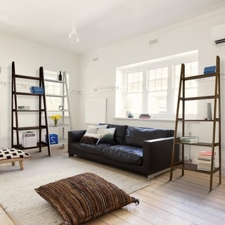 Porch & Den Longfellow Peterson 5-shelf Ladder Bookcase
