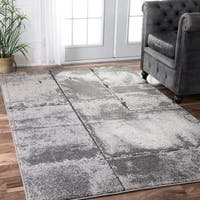 Porch & Den Williamsburg Skillman Contemporary Mist Shades Grey Rug - 5' x 8'