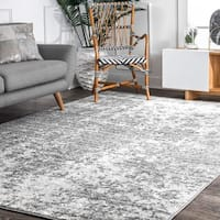 "Porch & Den Seigel Granite Mist Shades Grey Rug - 7'6"" x 9'6"""