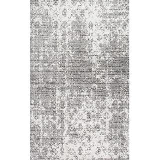 Porch & Den Seigel Granite and Mist Grey Area Rug (5 x 8)