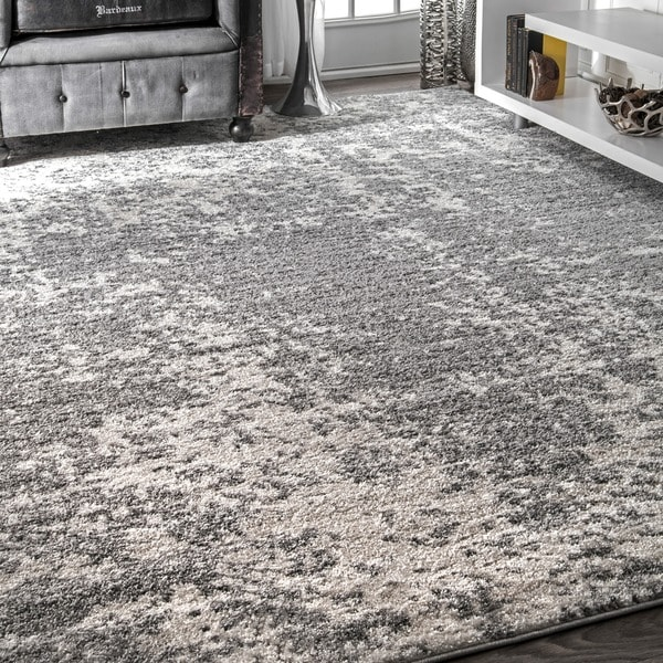 Shop Porch Amp Den Seigel Granite And Mist Grey Area Rug