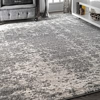 "Porch & Den Seigel Granite Mist Shades Grey Rug - 8'2"" x 11'6"""