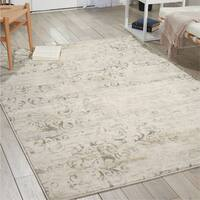 Porch & Den Greenpoint Russell Bone Area Rug - 3'11 x 5'11