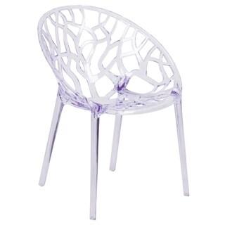 Porch & Den Stonehurst Medford Transparent Stacking Dining Chair