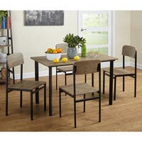 Porch & Den Third Ward Oregon 5-piece Piazza Rectangular Dining Set