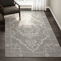 Porch & Den Pearl District Pettygrove Medallion Area Rug - 5'3 x 7'3