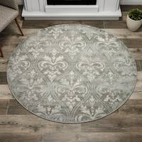 Porch & Den Greenpoint Sutton Grey Area Rug - 5'3 x 5'3