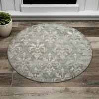 Porch & Den Greenpoint Sutton Grey Area Rug - 3'4 x 3'4