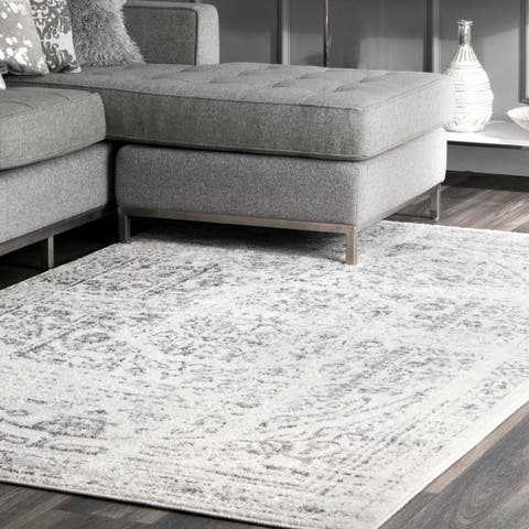 Porch & Den Hope Vintage Distressed Ring Area Rug