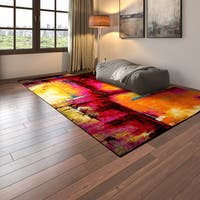 Porch & Den Wellington Abstract Modern Area Rug - 7'10 x 10'2