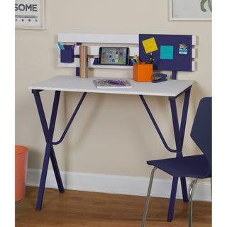 Porch & Den Third Ward Menomonee Corey Desk (Option: Blue)