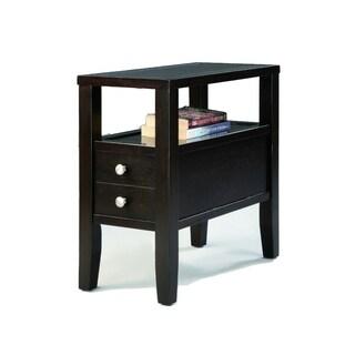 Amiable Chairside Table, Dark Espresso
