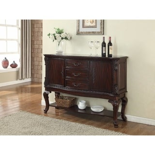 Commodious Side Board, Brown