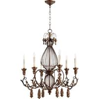 Quorum International Salento Family Cage Chandelier