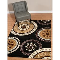 """Westfield Home Rize Paja Black Runner Rug - 1'11 x 7'2"""""""