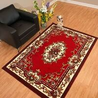"Westfield Home Rize Celia Red Area Rug - 7'10"" x 10'6"""