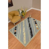 Westfield Home Rize Maito Blue Area Rug - 5' x 7'