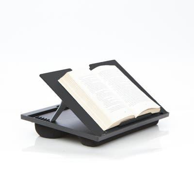 Mind Reader Adjustable 8 Position Lap Top Desk, Black