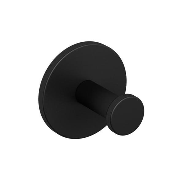 Matte Black Single Bathroom Hook