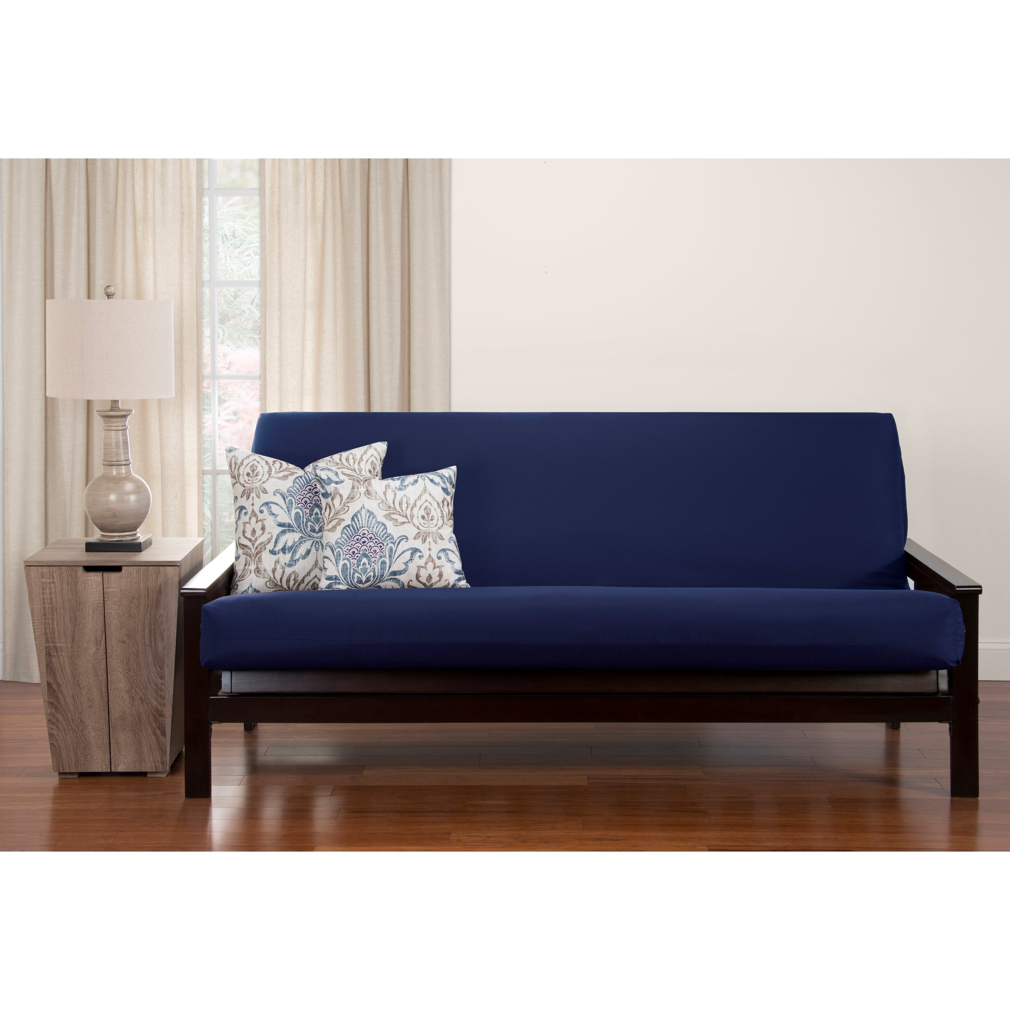 Blue Futon Covers Online At Com Our Best Slipcovers Furniture Deals